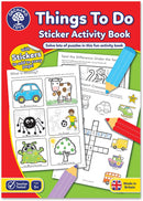 Activity Book Things To Do
