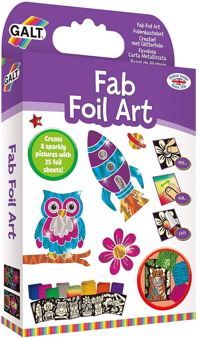 Fab Foil Art Activity Pack