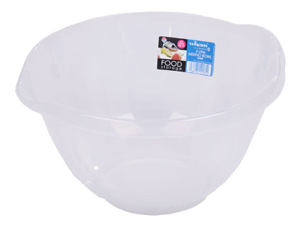 Cuisine 4L Mixing Bowl Clear