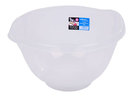Cuisine 7L Mixing Bowl Clear