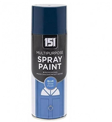 151 Multi Purpose Spray Paint Blue 400ML