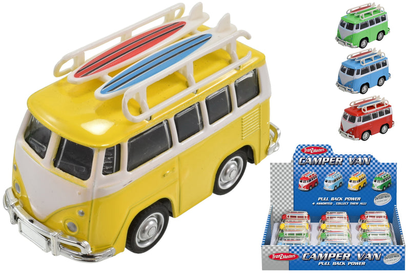 Die Cast Camper Van (Asst Colour)