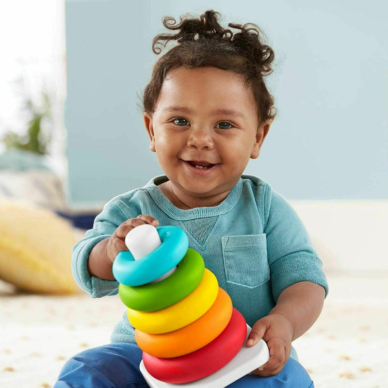 Fisher Price Eco-Friendly Rock-a-Stack & Shape Sorter Gift Set