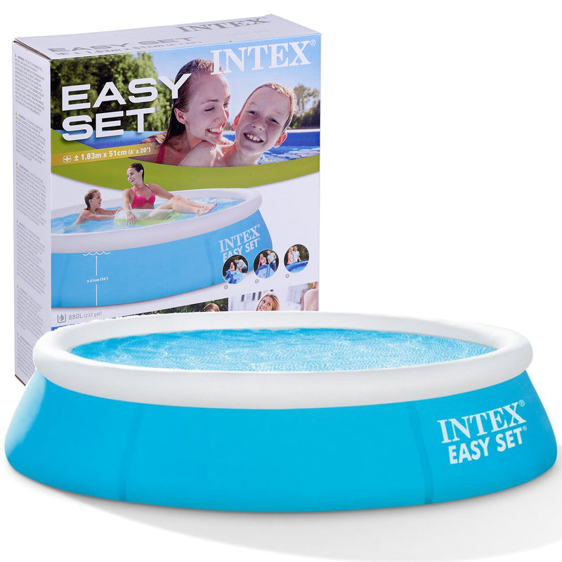 6ft Easy Set Paddling Pool
