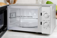 Load image into Gallery viewer, 20L 700W Manual Microwave Silver