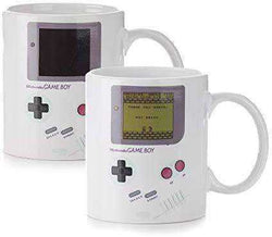 Paladone Gameboy Heat Changing Coffee Mug - Gift for Gamers, Fathers, Coffee Enthusiasts: Kitchen & Dining