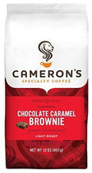 Cameron's Coffee Roasted Ground Coffee Bag, Flavored, Chocolate Caramel Brownie, 32 Ounce