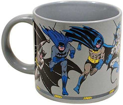 Batman Through the Years Coffee Mug - DC Comics Officially Licensed - From Golden Age to The Dark Night - Comes in a Fun Gift Box: Kitchen & Dining