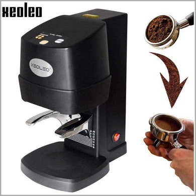 XEOLEO Electric Espresso coffee tamper automatic Flat Plated Base Press Coffee Grinder Bean Tools Accessorie - Appliances