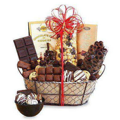 Chocolate Delights Basket - Gift Baskets