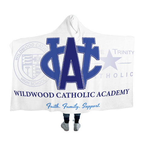 Wildwood Catholic Academy Support Cloak Hooded Blanket