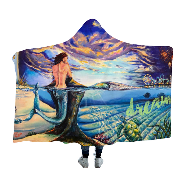DREAM Wildwood Cloak Hooded Blanket