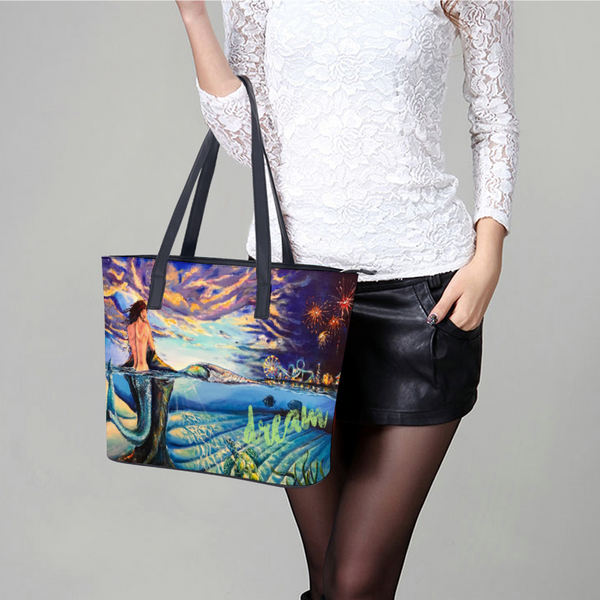 Dream Wildwood Leather Lady's Handbag