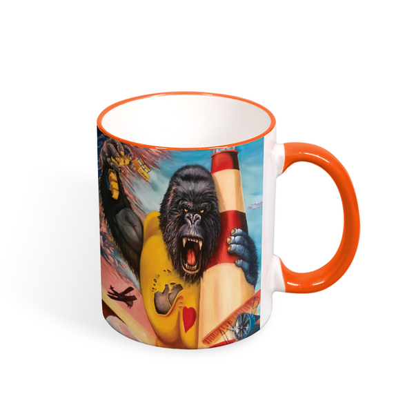 LOVE Wildwood Mug - Color Mouth and Handle 11oz