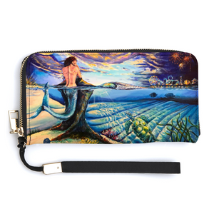 DREAM Wildwood Womens Long Wallet with Credit Card Holders