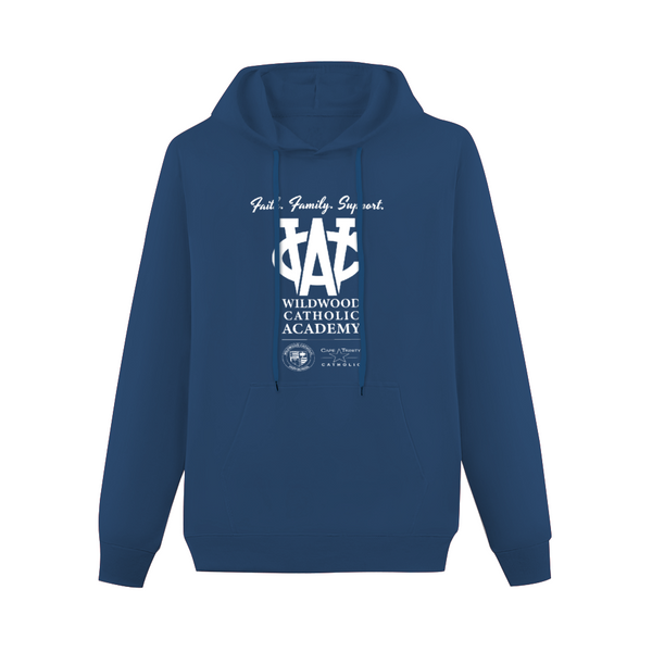 Wildwood Catholic Academy Support Hoodie Navy with Pocket