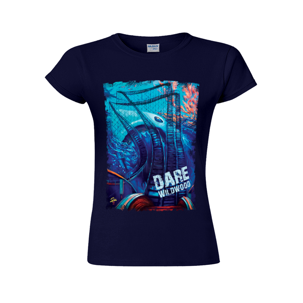 DARE Wildwood Navy Short-Sleeved T-Shirt for Women