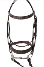 Load image into Gallery viewer, HUNTLEY PADDED WIDE NOSEBAND BRIDLE