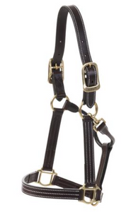 HUNTLEY LEATHER HALTER