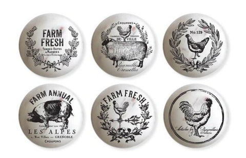 Farmhouse Delight (Knob Transfers)