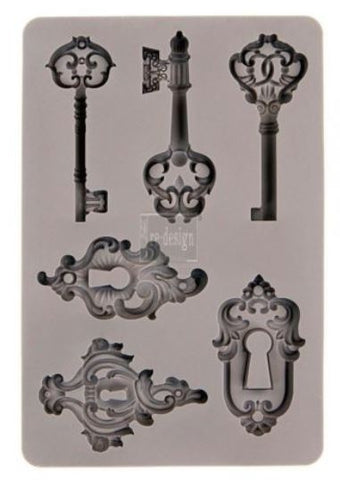 Keys - Silicone Mould