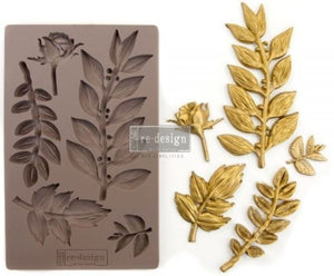 Leafy Blossoms - Silicone Mould