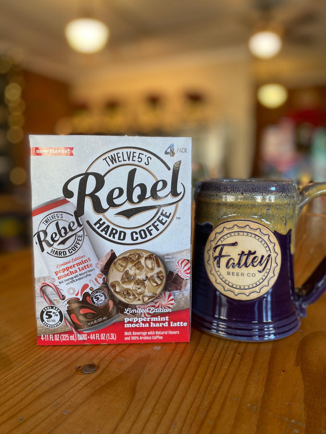 ADD TO ANY ORDER - 4 - Pack of Rebel Mocha Peppermint Hard Coffee!