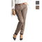 Pantalone donna slim fit con tasche e cintura casual made in italy 1436 - Nada Home
