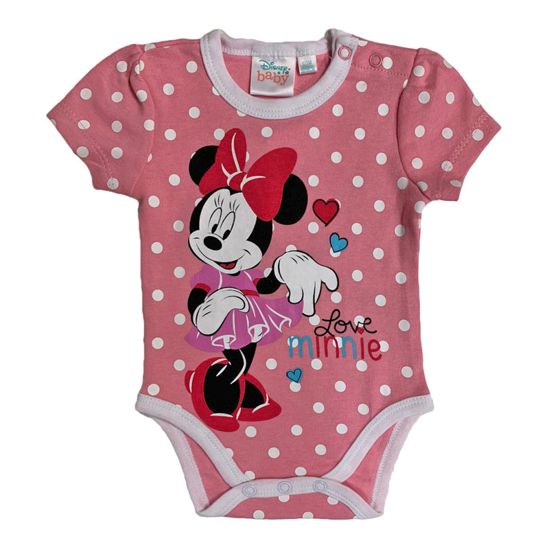 Body neonata manica corta Disney tutina Minnie 2614 - Nada Home