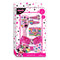 Accessori per capelli Disney Minnie kit 16 pz spazzola fermagli 2711 - Nada Home