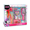 Accessori per capelli Disney Minnie kit 18 pz spazzola fermagli 2712 - Nada Home