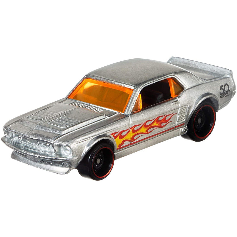 Modellino Hot Wheels '67 Ford Mustang Coupe 50° anniversario 2802 - Nada Home