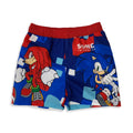 Costume mare ufficiale Sonic the hedgehog pantaloncino shorts bimbo piscina 3123 - Nada Home