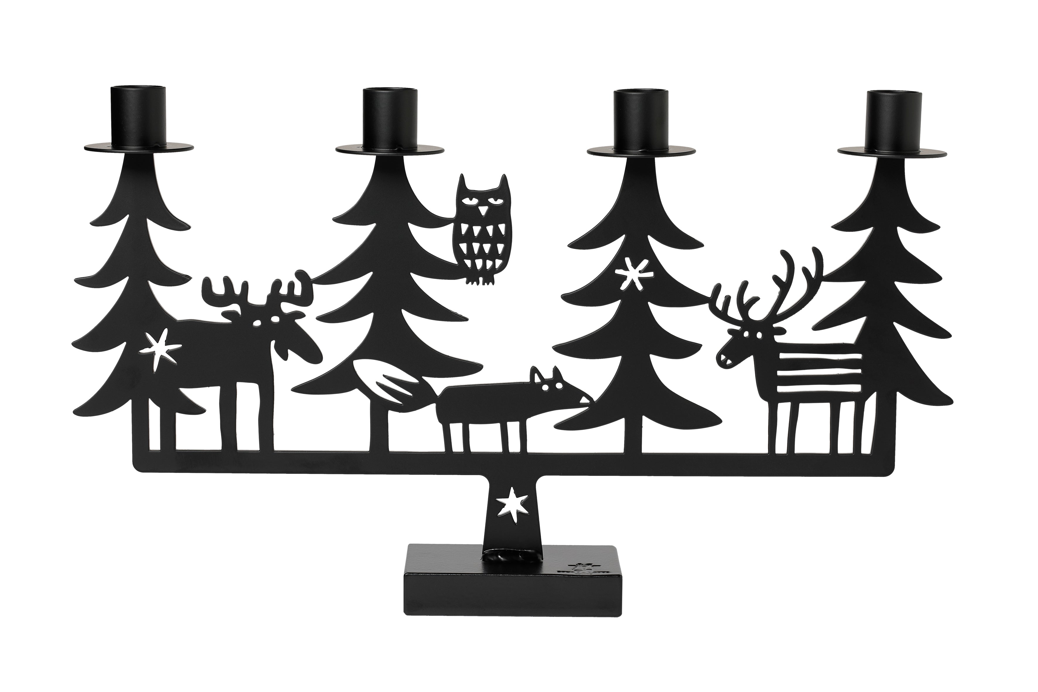 'Christmas Forest Advent Candle Holder'