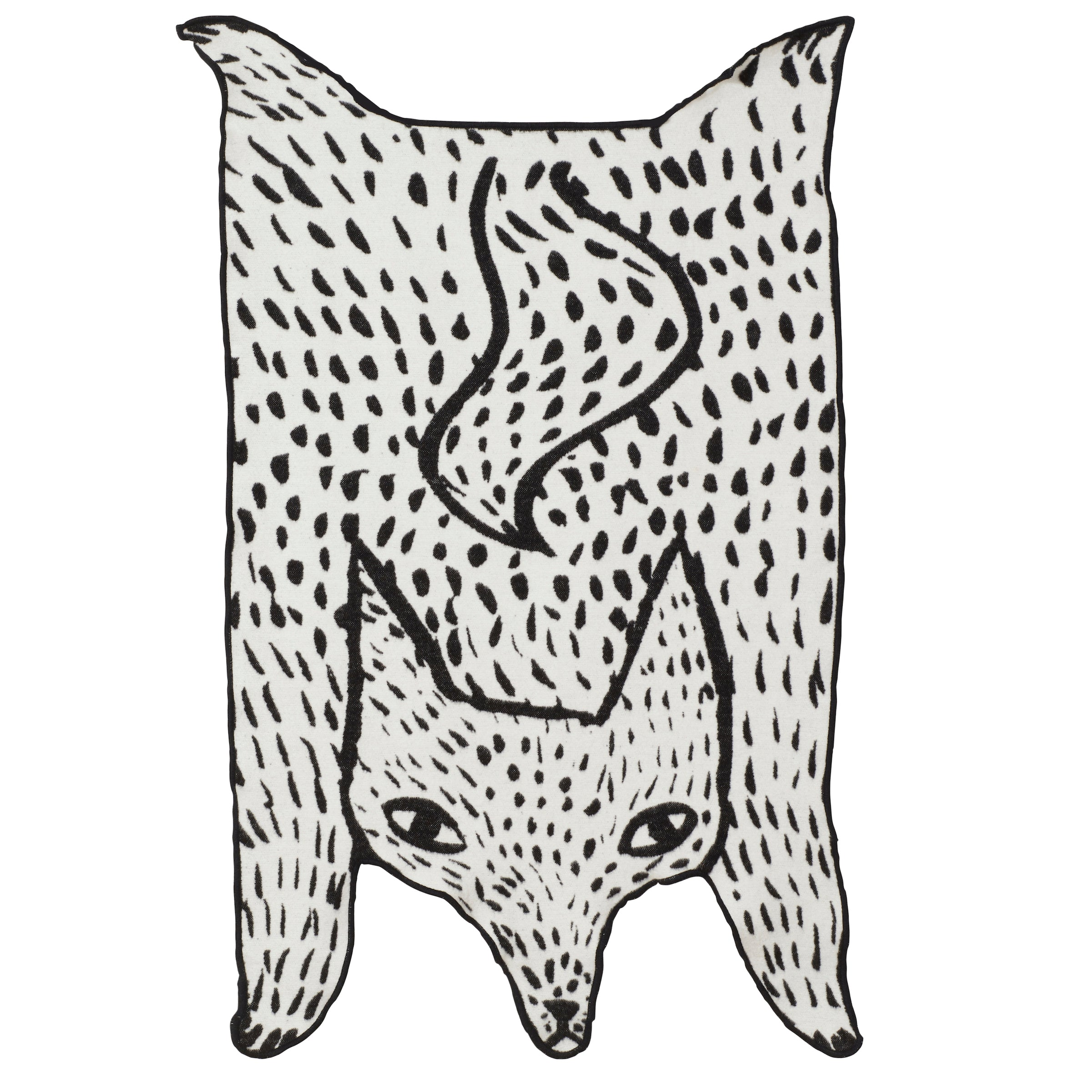 Wolf Shaped Blanket