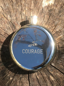 Courage Hip Flask
