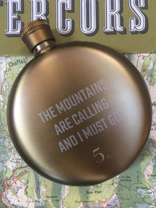 Mountains Hip Flask