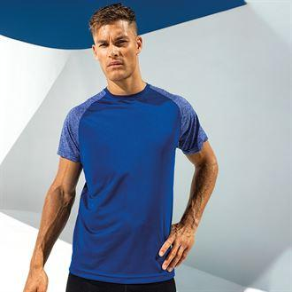 Customisable, personalise TriDri® Contrast Sleeve Performance T-Shirt - Stitch & Print NI