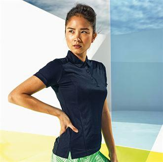 Customisable, personalise Women's TriDri® Panelled Polo - Stitch & Print NI