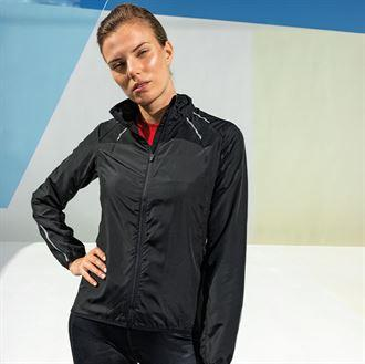 Customisable, personalise Women's TriDri® Ultra-Light Fitness Shell - Stitch & Print NI