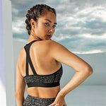 Customisable, personalise Women's TriDri® Performance Animal Printed Bra (medium impact) - Stitch & Print NI