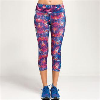 Customisable, personalise Women's TriDri® performance fireworks leggings ¾ length - Stitch & Print NI