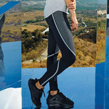 Customisable, personalise Women's TriDri® Performance Reflective Leggings - Stitch & Print NI
