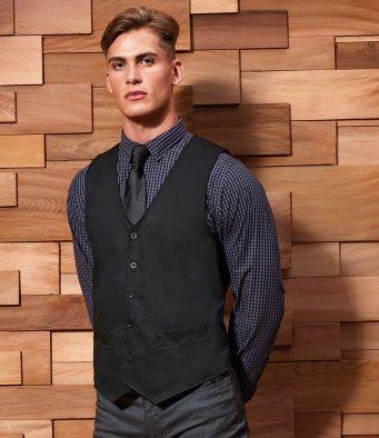 Customisable, personalise Premier Hospitality Waistcoat - Stitch & Print NI