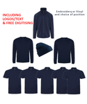 Customisable, personalise RTX Workwear Package Deal 2 - Stitch & Print NI