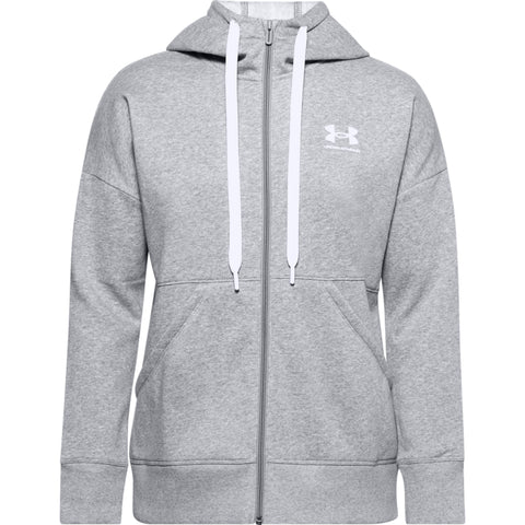 Customisable, personalise Under Armour- Women's Rival Fleece Full-Zip Hoodie - Stitch & Print NI