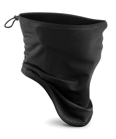 Beechfield - Black Softshell Sports Tech Neck Warmer