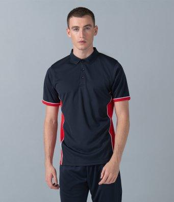 Customisable, personalise Finden Hales Panel Polo - Stitch & Print NI
