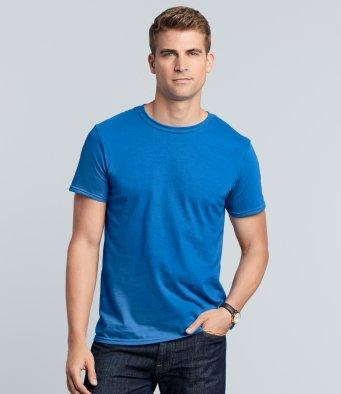 Customisable, personalise Gildan Softstyle™ Adult Ringspun T-Shirt - Stitch & Print NI