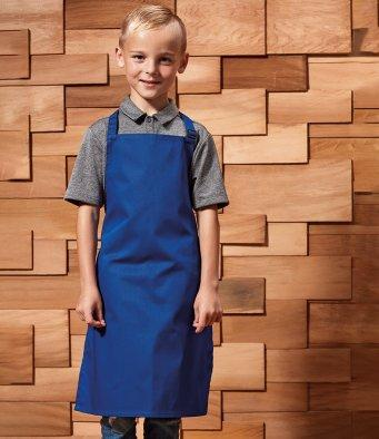 Customisable, personalise Premier Kids Bib Apron - Stitch & Print NI